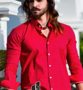 Red Polka Dots Shirt