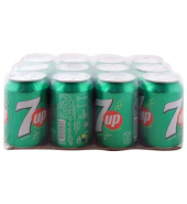 7up Can 300ml, 12 Pieces