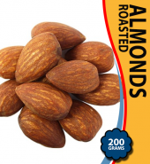 Almonds Roasted – 200 Grams