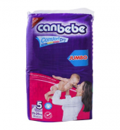 Canbebe Comfort Dry No. 5 Junior, Jumbo, 11-25 KG, 52-Pack