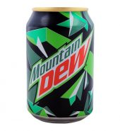 Mountain Dew Can 300ml, 12 Pieces