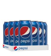 Pepsi Can 300ml, 12 Pieces