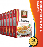 Bombay Chaat Masala 50g pack of 6