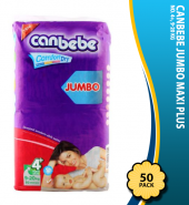Canbebe Jumbo Maxi Plus No. 4+, 9-20 KG 50-Pack