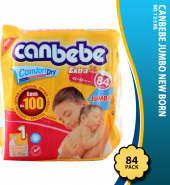 Canbebe Jumbo New Born No. 1 2-5 KG 84-Pack