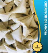 Chicken Cheese Samosa (1Dz)