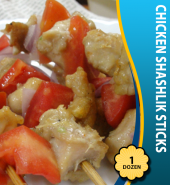Chicken Shashlik Sticks (1Dz)